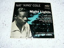 Nat  King  Cole  Night Lights EP Night/ Nothing Ever Changes/To The Ends/My Drea