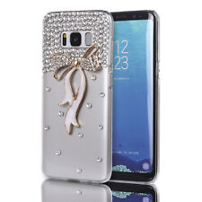 3D Bling Crystal Glitter Shinning Diamond Bow Case For Samsung Galaxy S8