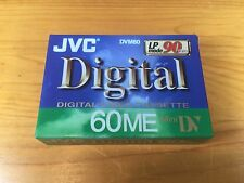 JVC Digital Video Cassette 60ME Mini DV 90 Minutes DVM60 M-DV60ME New LP Mode