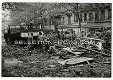 Paris MAI 68 -Restes Barriquades Bd St Michel Tirage Argentique Original 17x24cm
