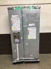 "(set of 2) Thermador 24"" Column Refrigerator and 18"" Column Freezer Integrated"