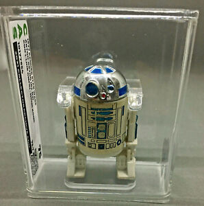 STAR WARS VINTAGE R2D2 R2-D2 DROID CAS 85+ LOOSE KENNER 1977 DISNEY FIRST 12 AFA