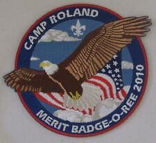 Camp Roland (VA) 2010 Merit Badge-o-Ree Pocket Patch  BSA
