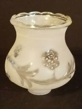 Vintage White Frost Glass Ceiling Fan Globe Light Shade Lamp Vanity Replacement