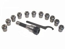 R8 Shank ER32 Chuck With 11 PC Collets Set