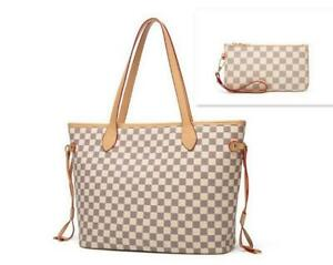 Checkered Oversized Chic totes