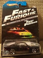 HOT WHEELS FAST & FURIOUS '70 DODGE CHARGER R/T OFFICIAL MOVIE MERCHANDISE