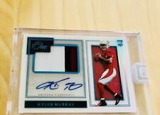 KYLER MURRAY 2019 Panini One Autograph Rookie Patch Auto RPA Acetate 🔥 #/49 ROY