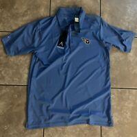 NWT Antigua Golf Tennessee Titans M Medium Golf Shirt