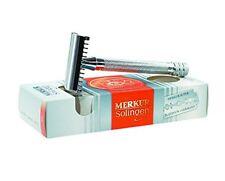 Merkur 25c Open Comb Safety Razor Chrome Plated