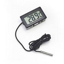 LCD Digital Termómetro Higrómetro Sonda Congelador Mascota Temperatura -50 ~ 110