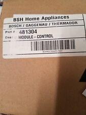 Brand New Bosch Washer Control Module Part # 481304