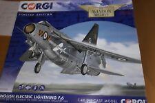 Corgi Aviation 1 48 E E Lightning F.6 Xs927/n No 74 Sqn The Tigers RAF Tengah