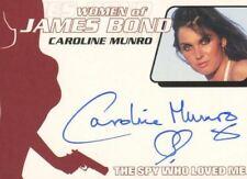 James Bond Heroes & Villains Autograph Card Wa32 Caroline Munro