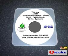 Tektronix Tek Aa501 Aa 501 Aa 501 Service Oprs Manual