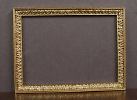 Picture Frame Large Round Gold UMLP16  dollhouse miniatures 1//12 scale