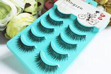 Wholesale 5 Pairs Natural Daily Fake Eye Lashes Natural Make up False Eyelashes