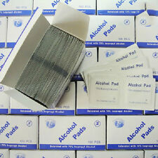 100pcs/Box Alcohol Swabs Pads Wipes Antiseptic Skin Cleaning Sterilization