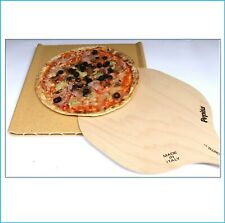 Pietra Refrattaria piastra teglia placca da forno per pizza con pala ricettario