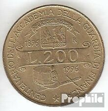 Italy km-number. : 184 1996 extremely fine Aluminum-Bronze extremely fine 1996 2