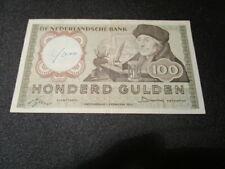 100 Gulden Niederlande 1953