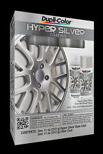 Dupli-Color HSK100 Hyper Silver Coating; Silver/Clear 2-11oz.Kit  FREE SHIPPING