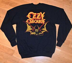 *1984 OZZY OSBOURNE* vtg concert USA Tour sweatshirt shirt (M) 80s Black Sabbath