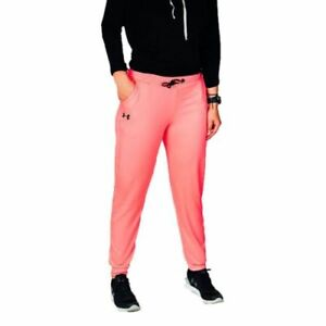 New With Tags Womens Under Armour Storm Sweatpants Fleece Joggers Athletic Pants