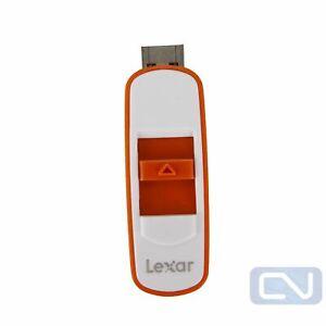Lot of 2 Orange Lexar 128GB USB 3.0 Thumb Flash Stick Pen Memory Drive PC