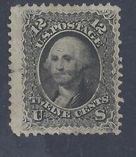 USA 1861 12c WASHINGTON USED  SG 65 (#5)