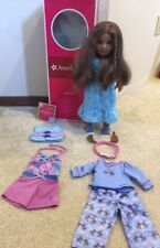 """18"""" American Girl Doll Doll of the Year 2011 Kanani in Original Box With Outfits"""