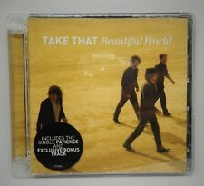 EMPTY CD CASE & INLAY BOOKLET ONLY - TAKE THAT - Beautiful World,Fast uk P&P