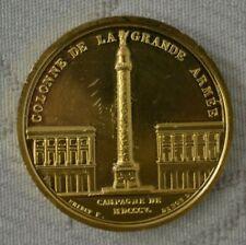 Médaille Collection Impériale - Colonne de la Grande Armée  * Présentoir offert