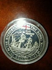 The Golden Hind Five Pounds Certificate Of Authenticity