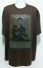 SCARFACE TONY MONTANA T Shirt Beaded  Selebs Hollywood Star Gangster Vlone