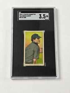 1909-11 Tolstoi Cigarettes T206 Howie Camnitz Arm At Side Baseball Card SGC