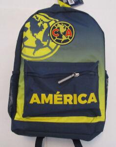 Men's Aguilas Del America Backpack, New Solid Navy Sport FMF Official Mochila