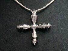 Jette Joop Anhänger Halskette 925 SILBER silver necklace argent Kreuz cross