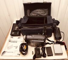 Vintage Jvc Gr-Axm710U Camcorder With Accessories And More Working Great