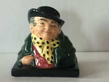 "Vintage Royal Doulton ""Tony Welles� Mini Bust Figurine Dickens Series ""A� Mark"