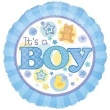 È un ragazzo blu Foil Balloon Blu arrivo Baby Shower Party Decorazioni