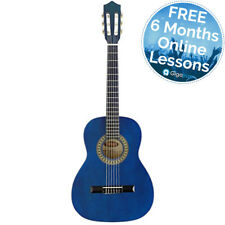 Rocket 3/4 Size Classical Spanish Guitar - Blue