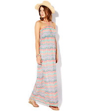 £49 NWT ACCESSORIZE MIAMI MULTI CROCHET LONG MAXI DRESS M MEDIUM 10 12 6 8 38 40