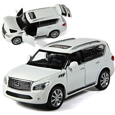 Gift Infiniti QX56 SUV Model Car Diecast Alloy Sound&Light  Collection NEW