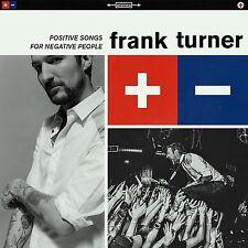 FRANK TURNER - POSITIVE SONGS FOR NEGATIVE PEOPLE (VINYL)  VINYL LP NEW+