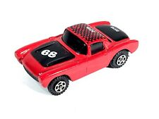 '68 Chevrolet Corvette Stingray Coupe Zylmex Diecast Toy Car Red No. S8503