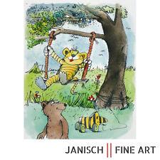 """JANOSCH - """"da schaukelt der Tiger"""", handsigniert, Auflage 99, 2013 !"""