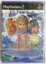 NEUF - jeu AGE OF EMPIRES II 2 the age of kings sur playstation 2 sony PS2 new