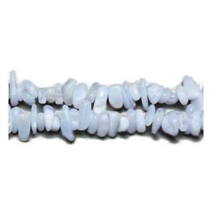 Lace Agate Chip Beads 5-8mm Blue 240+ Pcs Handcut Gemstones DIY Jewellery Making
