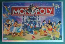 MONOPOLY Disney edition 2001 board game Parker Brothers COMPLETE